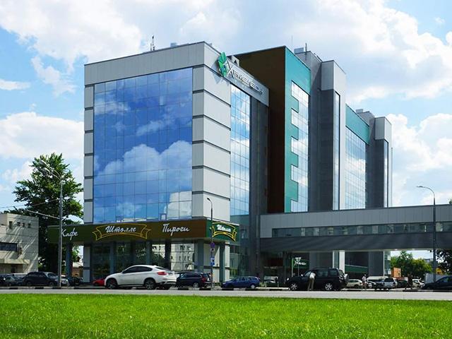 """Бизнес-центр """"Хамелеон"""" в Москве"""