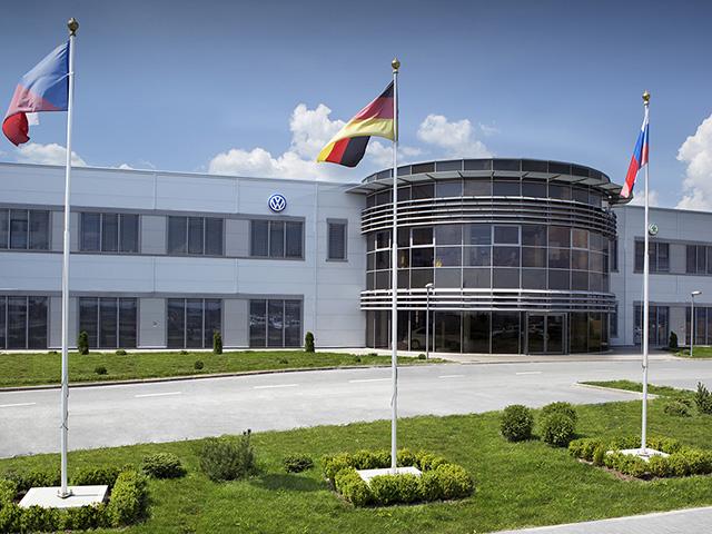 Завод концерна Volkswagen в Калуге